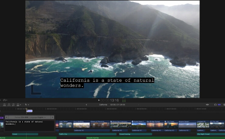 Apple Final Cut Pro Updated with new ProRes RAW Video Format and Advanced Closed Captioning