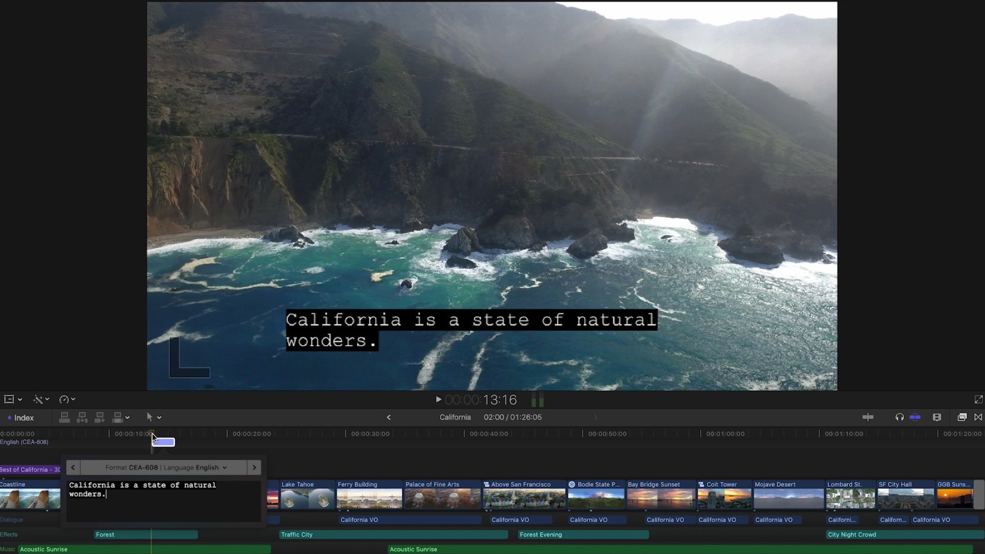 Apple Final Cut Pro actualizado con el nuevo formato de video ProRes RAW y subtitulado avanzado