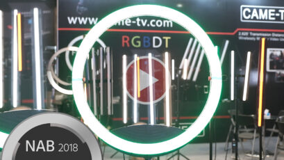 CAME-TV RGBDT Multicolor LED Lights – Your Choice of Tube or Ring Light