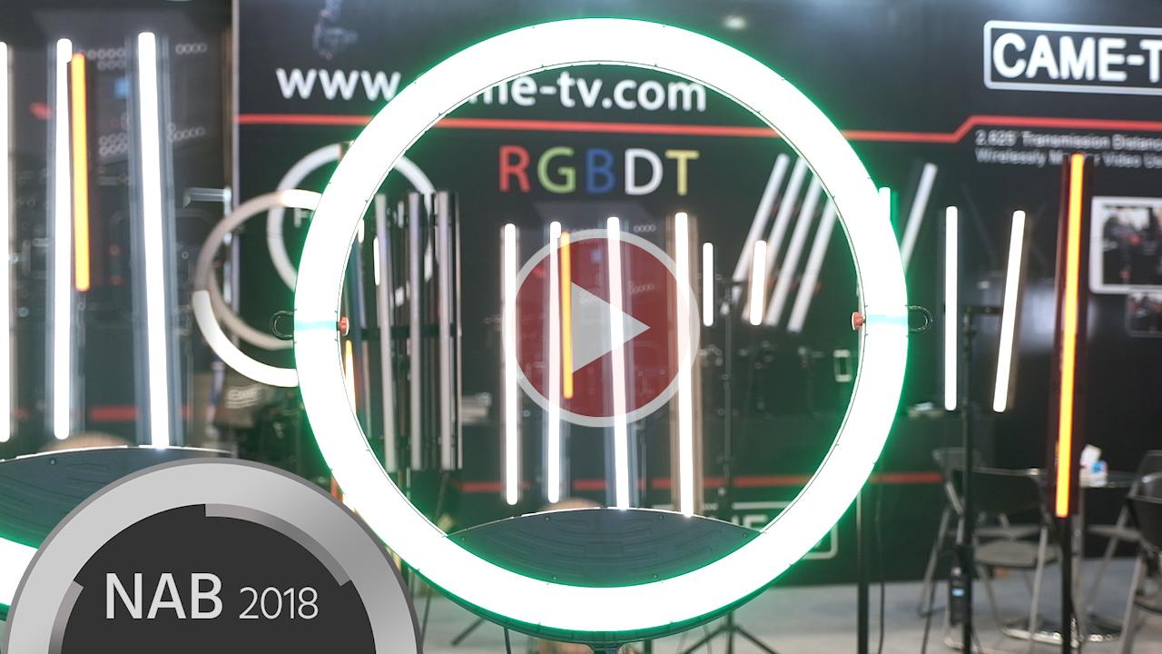 CAME-TVがRGBDTマルチカラーLEDライトを発表