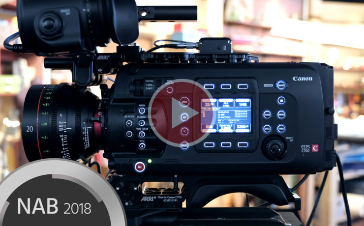Hands on With Canon C700 FF and 20mm T1.5