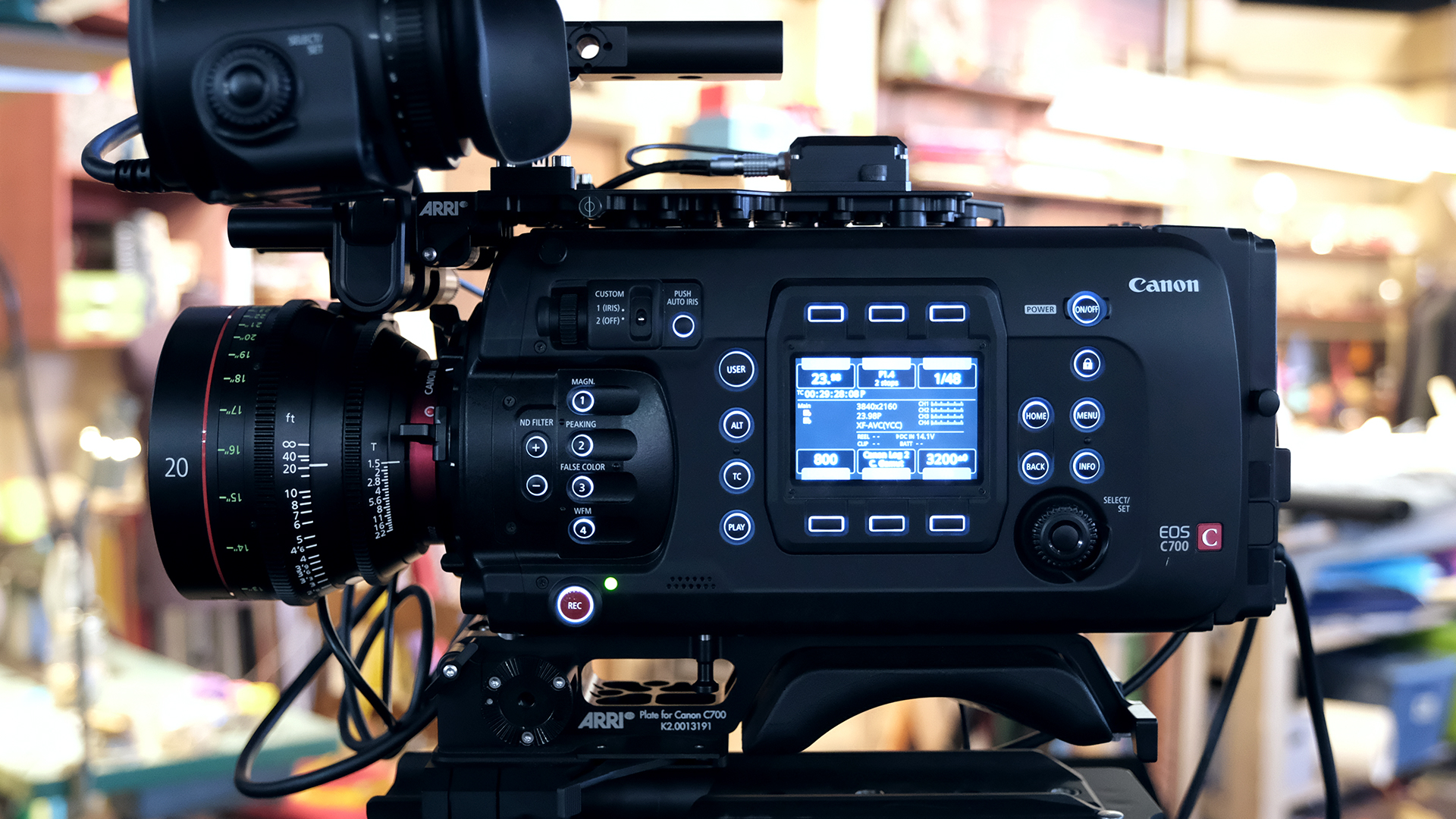 Hands on With Canon C700 FF and 20mm T1.5 | cinema5D
