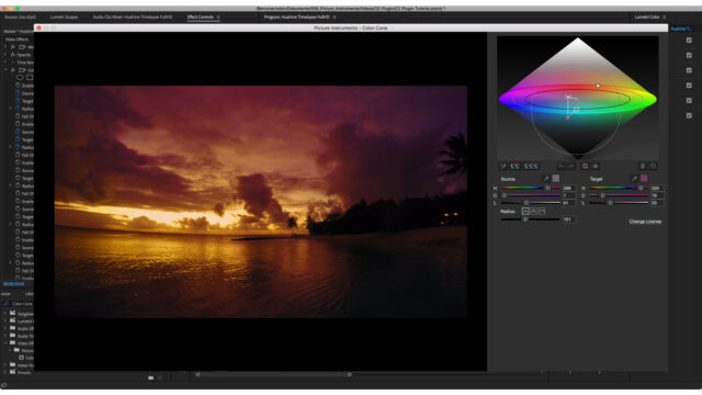 Picture Instruments Introduces Color Cone Plugin for Premiere and