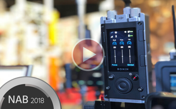 DJI Force Pro Wireless Gimbal Controller Hands-On
