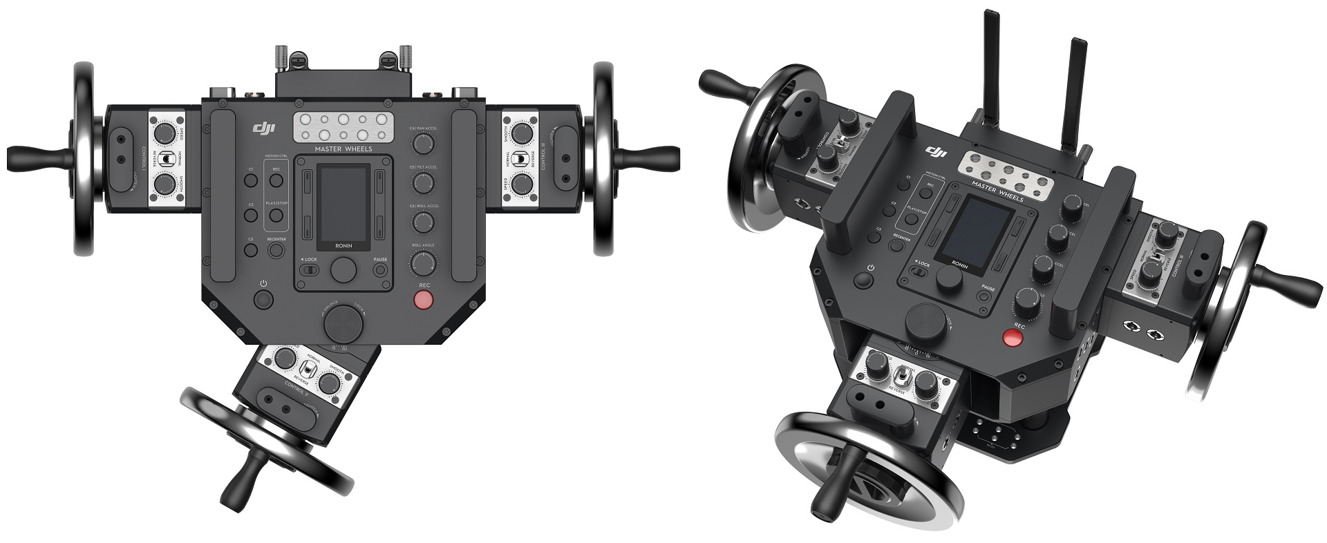 DJI Master Wheels and Force Pro - Remote Gimbal Control | cinema5D