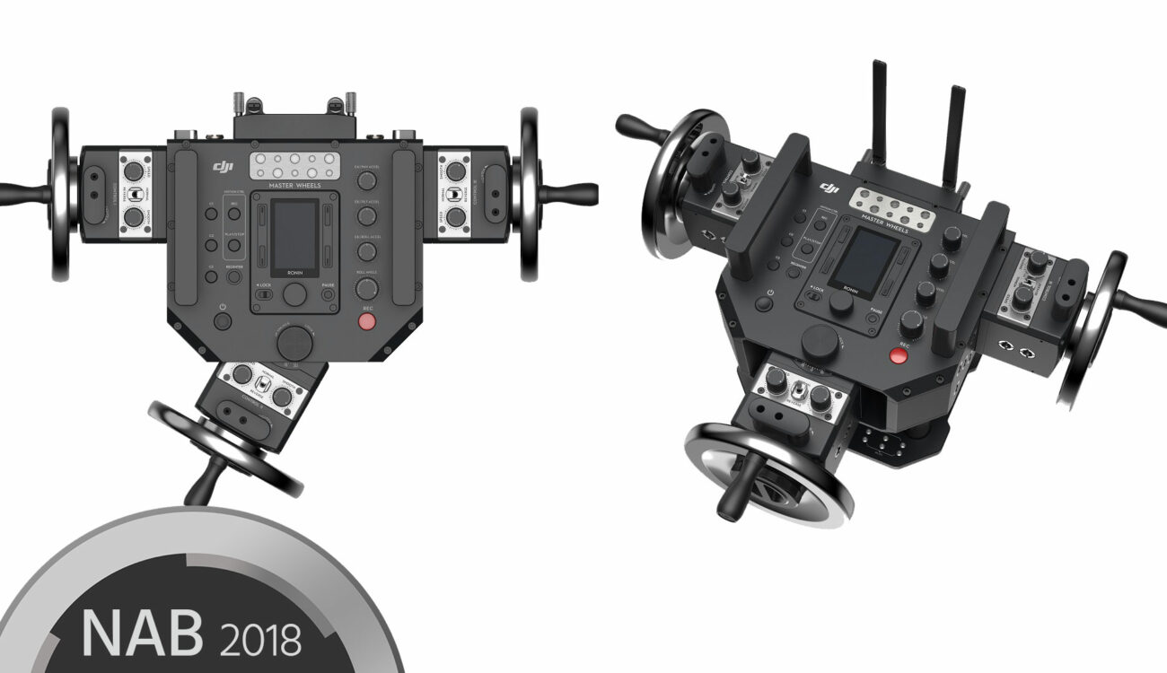 DJI Master Wheels and Force Pro - Remote Gimbal Control