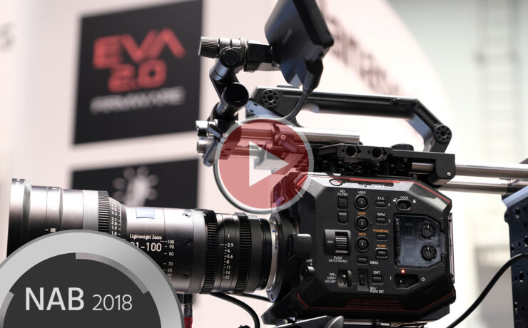 Panasonic EVA1 Firmware 2.0 – Watch Our NAB Interview on All the New Features
