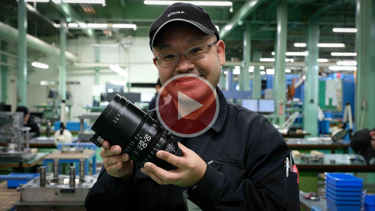 シグマ会津工場訪問記 - 高性能レンズが生まれる現場から