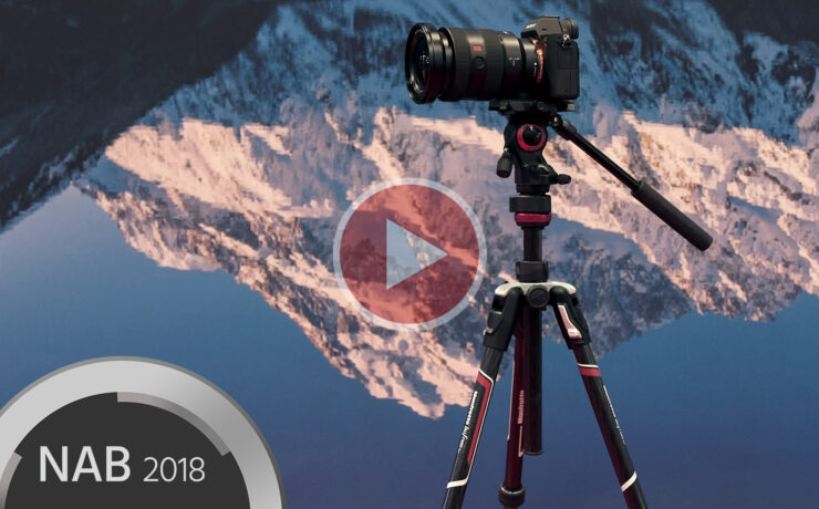 Manfrotto Befree Live Carbon Tripod – Lightweight, Portable Video Support