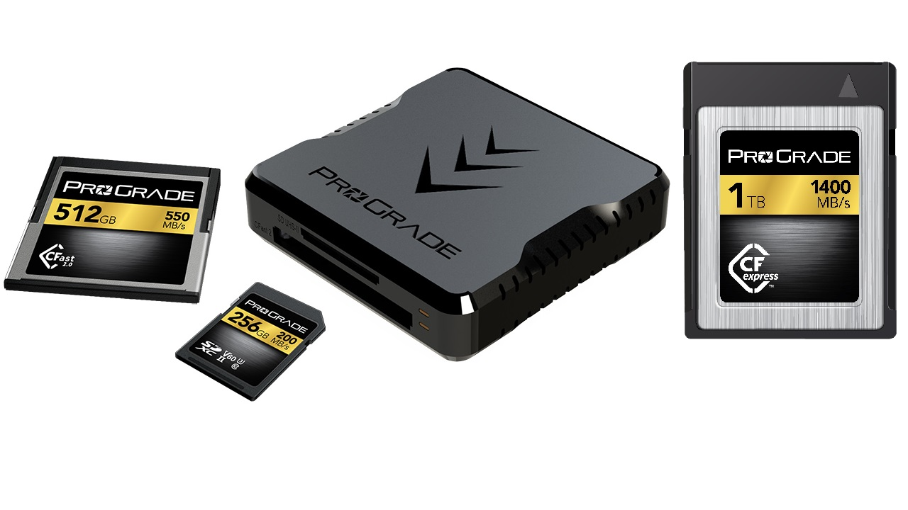 ProGrade Digital Unveils 1TB Industry First CFexpress Memory