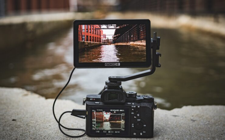 """SmallHD FOCUS OLED - New 5.5"""" 1080p Touchscreen Monitor"""