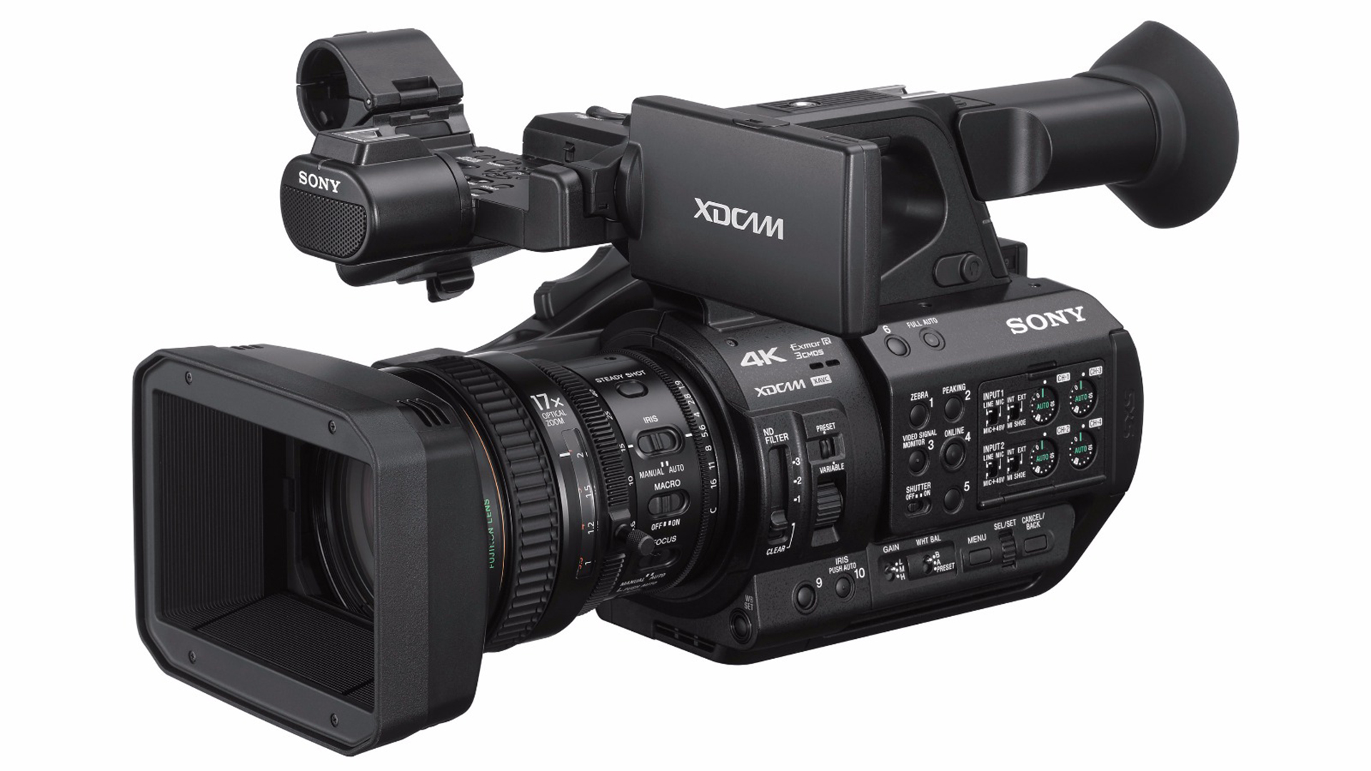 the sony fs5 ii is officially out z190 and z280 announced. Black Bedroom Furniture Sets. Home Design Ideas