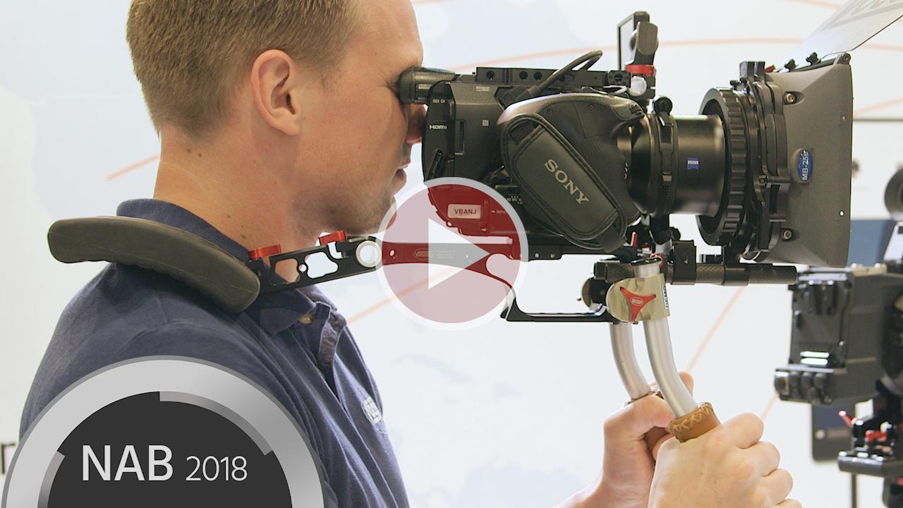 Vocasのカメラショルダーリグ - モジュラー構造で各種セットアップに対応