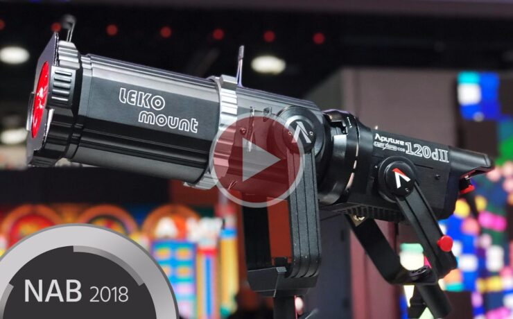 Aputure 120d Mark II - a Powerful LED Light