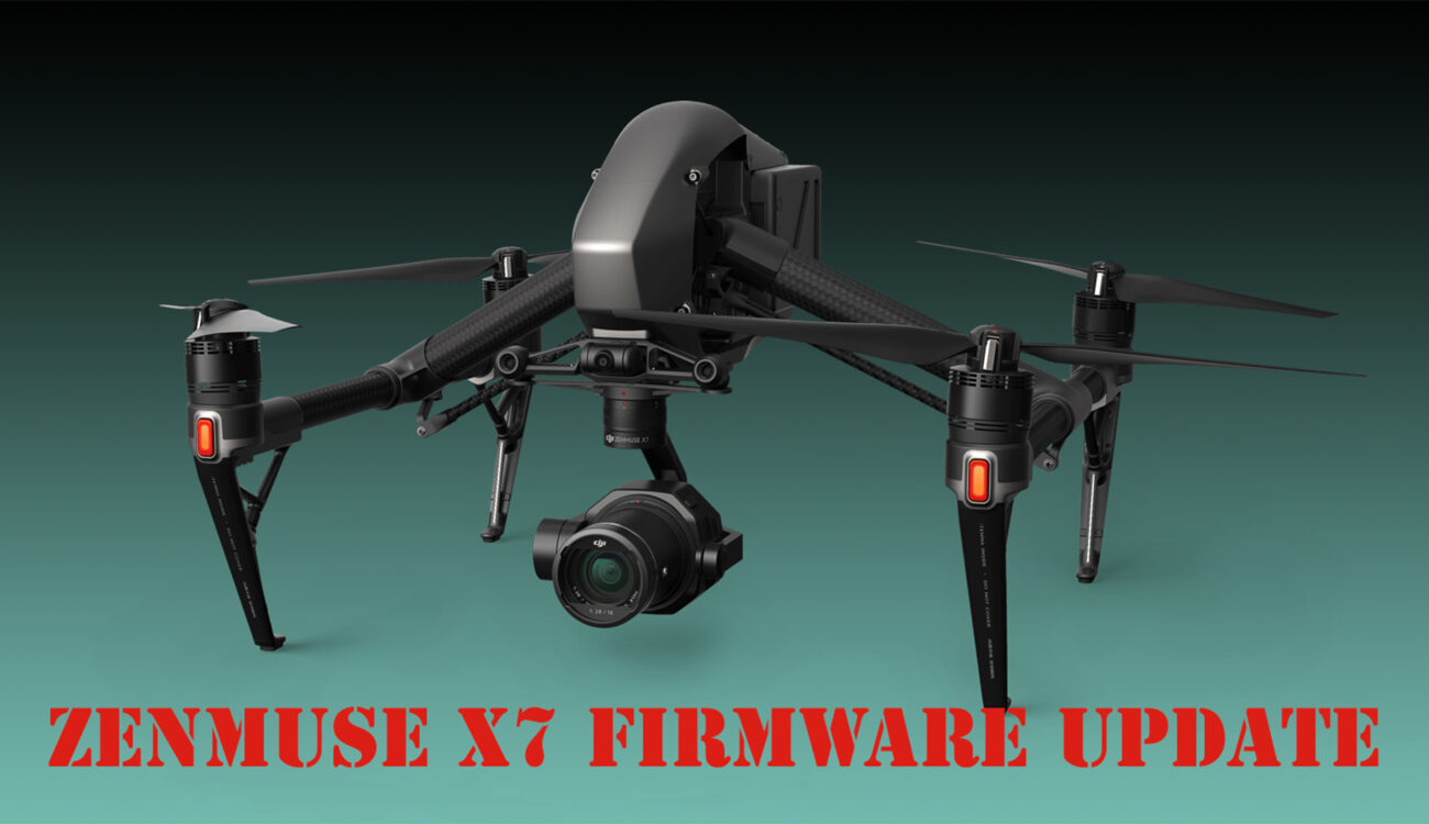 DJI Updates Zenmuse X7 Camera Supporting Apple ProRes RAW & 14-Bit