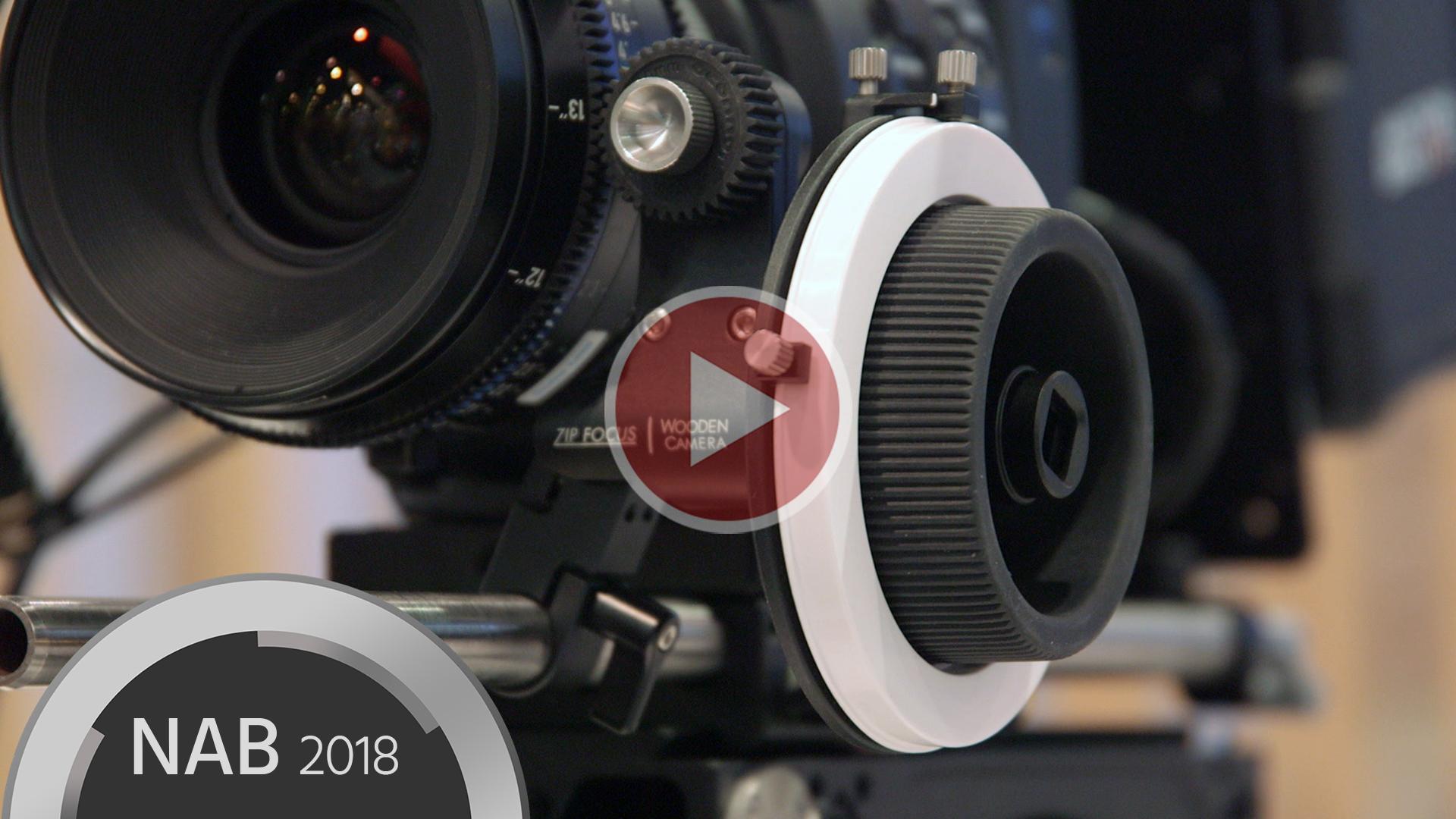 Wooden CameraのZip FocusとC200用PLマウント