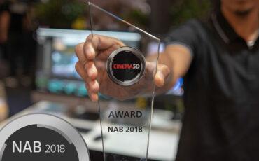 cinema5D NAB Awards 2018 - BMD Pocket Cinema Cam 4K, Kinefinity Mavo, ProRes RAW, Chrosziel Servo Zoom, Frame.io