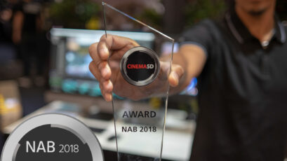 cinema5D NAB Awards 2018 - BMD Pocket Cinema Cam 4K, Kinefinity Mavo, ProRes RAW, Chrosziel Servo Zoom, Frame.io