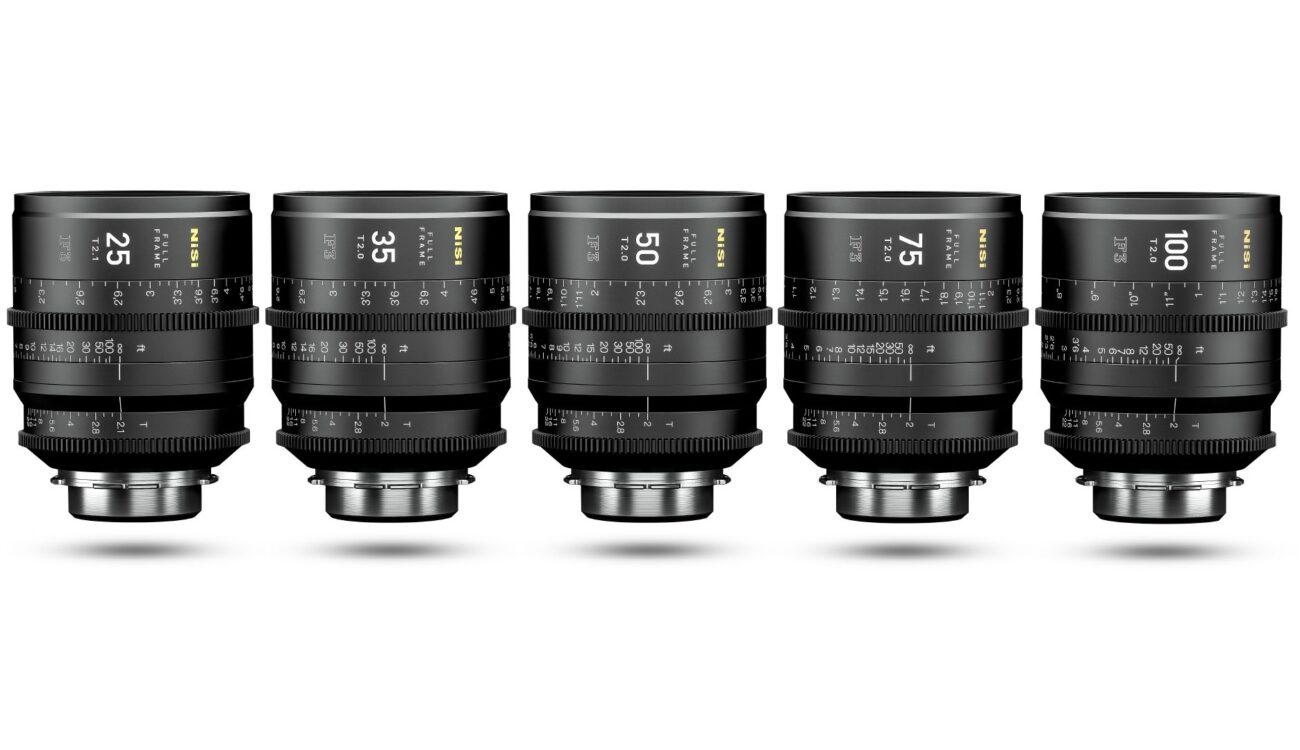 NiSi F3 Full Frame Cinema Prime Lenses Announced