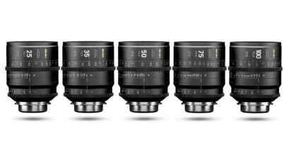NiSi F3 Full Frame Cinema Prime Lenses Announced