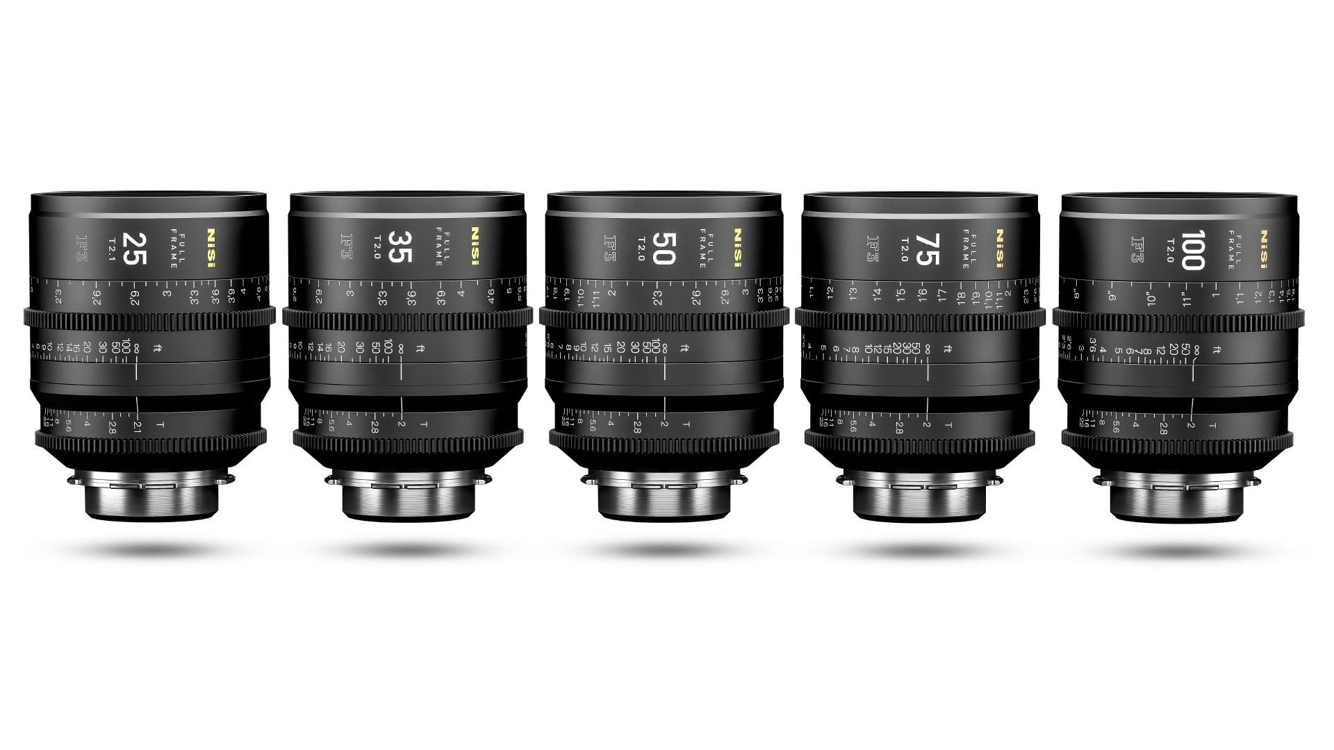 NiSi F3 Full Frame Cinema Prime Lenses Announced | cinema5D