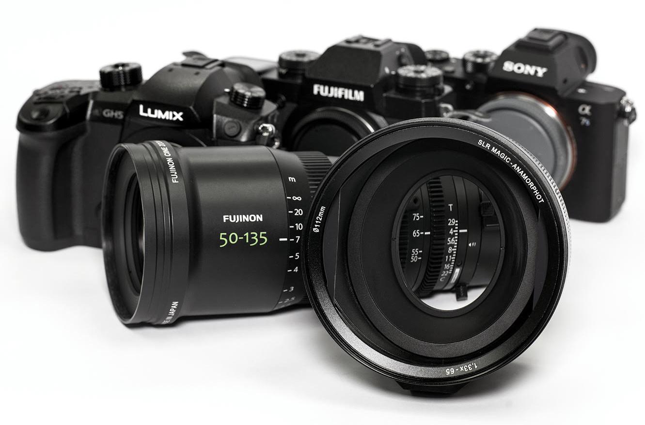 Make Your FUJINON MK Lens Anamorphic – SLR Magic Anamorphot 1 33x-65