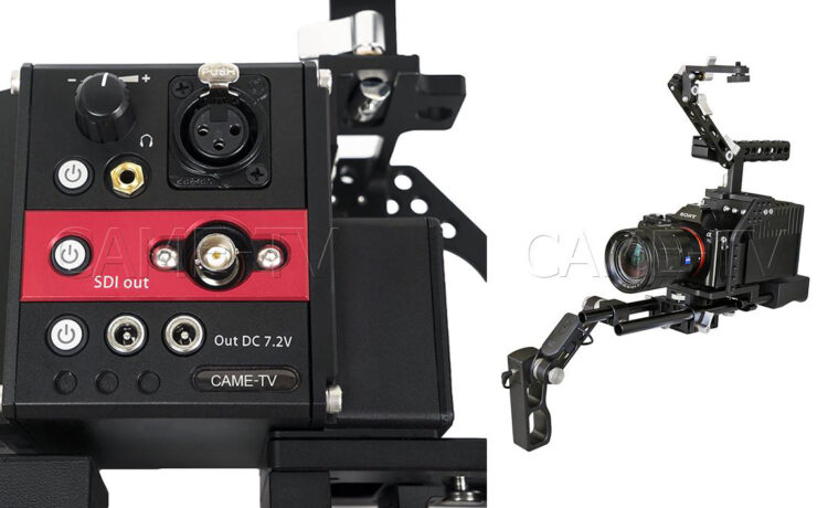 CAME-TV Terapin Rig Adds Pro Features To Panasonic GH4, GH5 and Sony A7S/R II