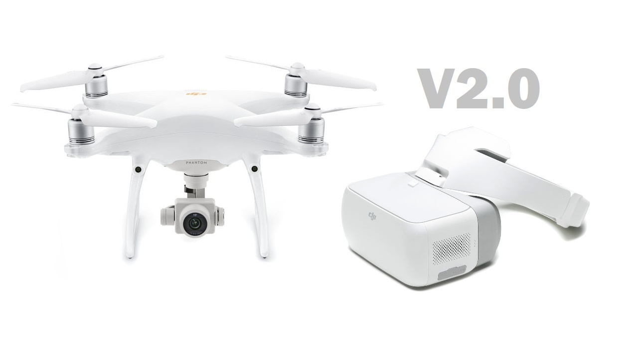 DJI Phantom 4 Pro V2.0 reduces noise, improves video transmission