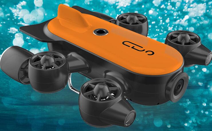 The Geneinno Titan Underwater Drone Will Hit Kickstarter Soon