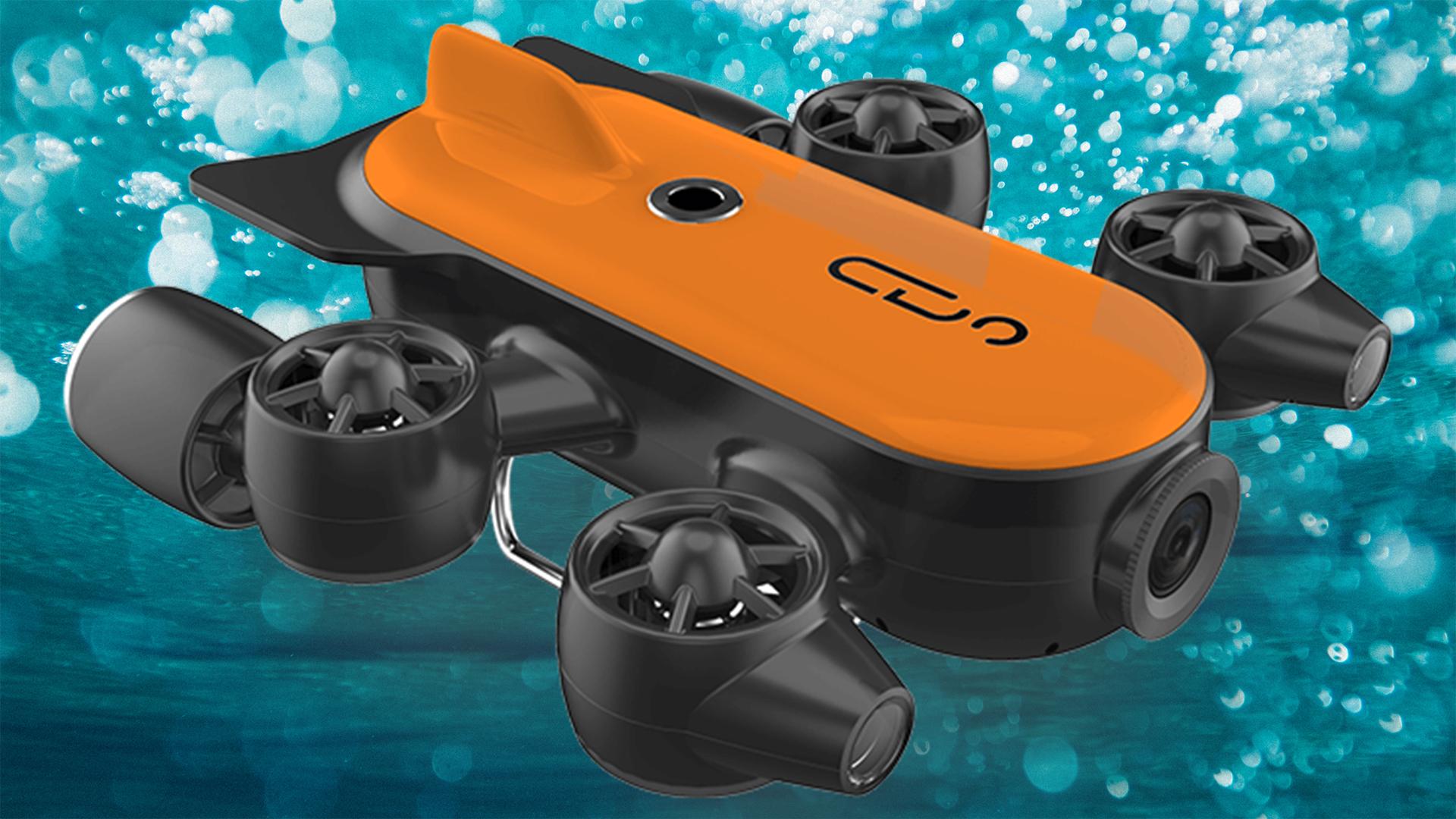 Geneinnoが水中ドローンTitan をKickstarterで発表