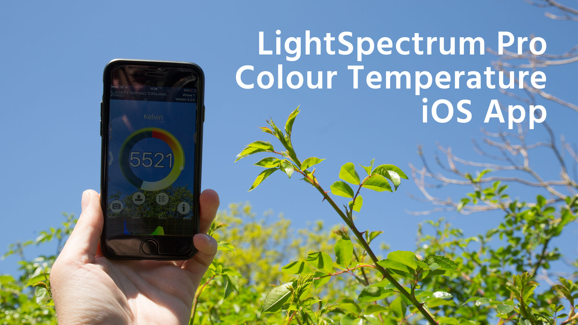 LightSpectrum Pro App - 色温度を簡単に計測するアプリ