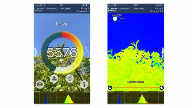 LightSpectrum Pro App - a Quick and Easy Colour Temperature