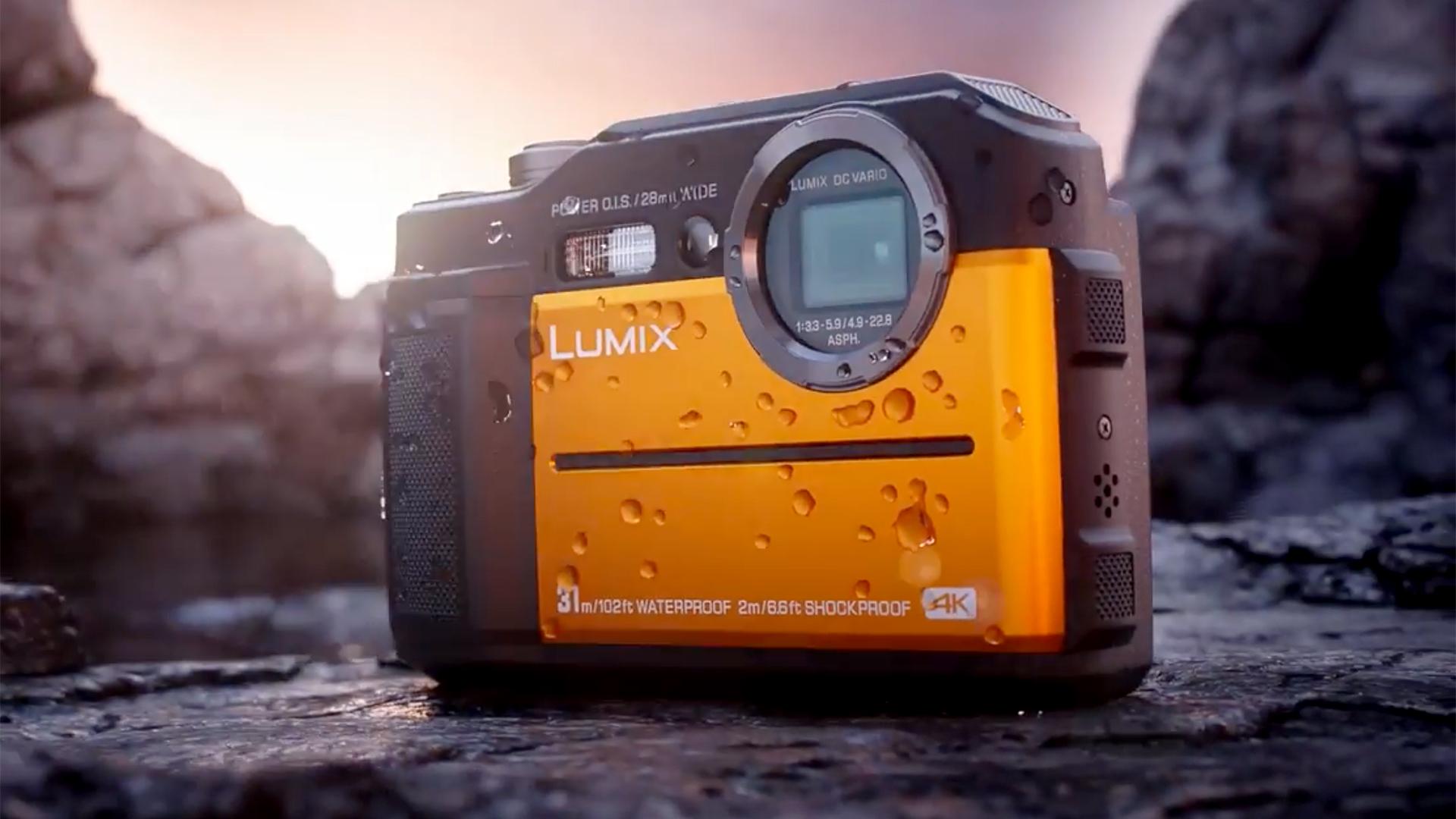 パナソニックがLumix FT7を発表 - 4K撮影可能でEVF内蔵の堅牢なコンパクトカメラ