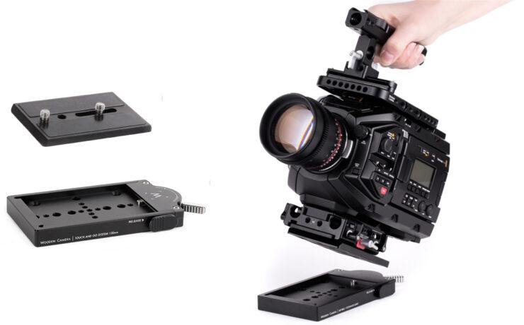 Wooden Camera Touch and Go Quick-Release System