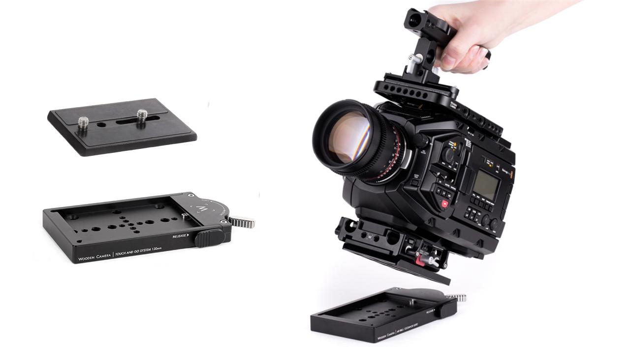 Wooden Cameraのクイックリリースシステム