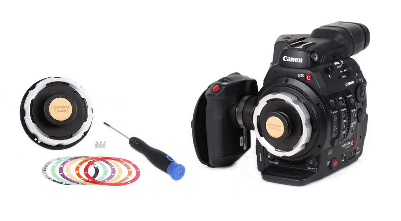 Wooden Camera Canon C300 Mark II PL Modification Kit