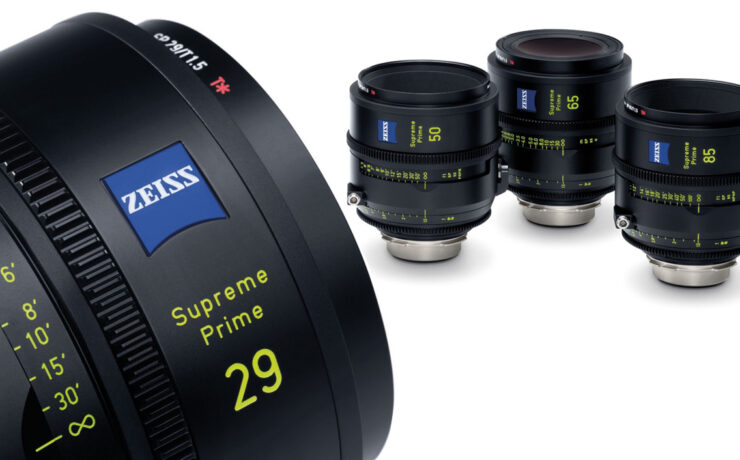 ZEISS Supreme Cinema Primes Announced - Large Format Continues to Grow