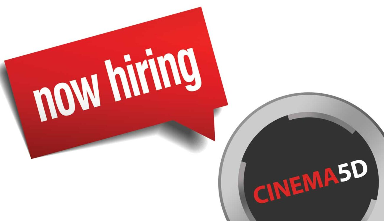 Hiring New cinema5D Writers - Do You Have What it Takes?