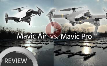 DJI Mavic Air vs. Mavic Pro Footage Comparison