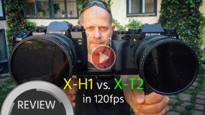 FUJIFILM X-T2 vs X-H1 - 120fps Slow-Motion Comparison