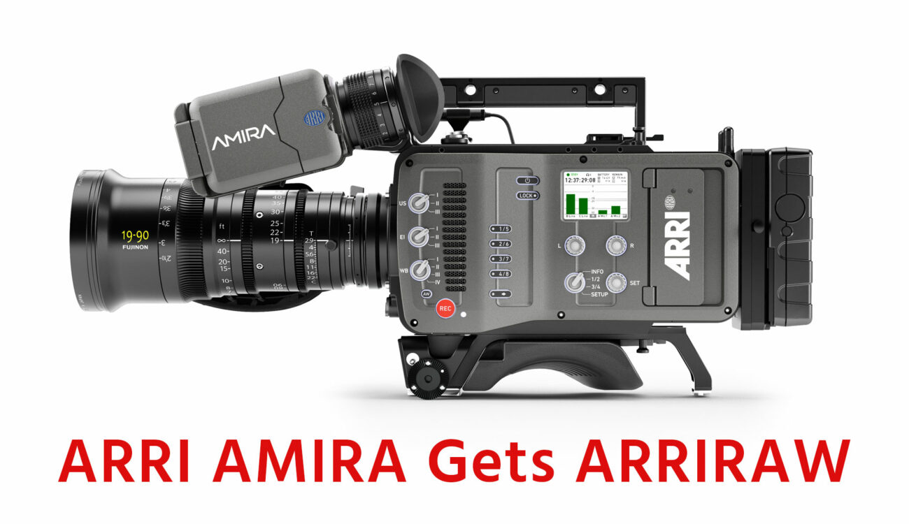 ARRI AMIRA gets ARRIRAW in Latest Software Update Package