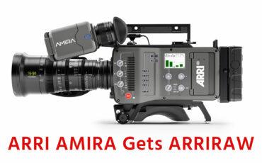 ARRI AMIRA gets ARRIRAW in Latest Software Update Package