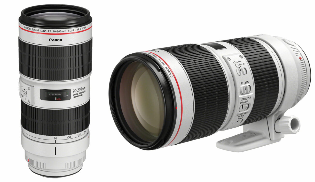 Canon Upgrades the Popular EF 70-200mm f/2.8L and f/4L Lenses