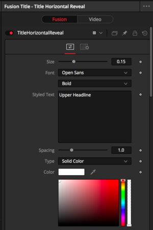 5 DaVinci Resolve Motion Graphics Tips