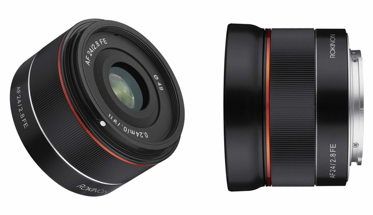Samyang AF 24mm F/2.8 FE Announced - A New Tiny Wide Angle Lens For Sony E-Mount