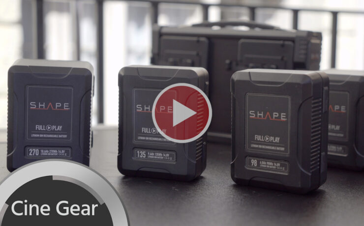 SHAPE Full Play Batteries - First Look