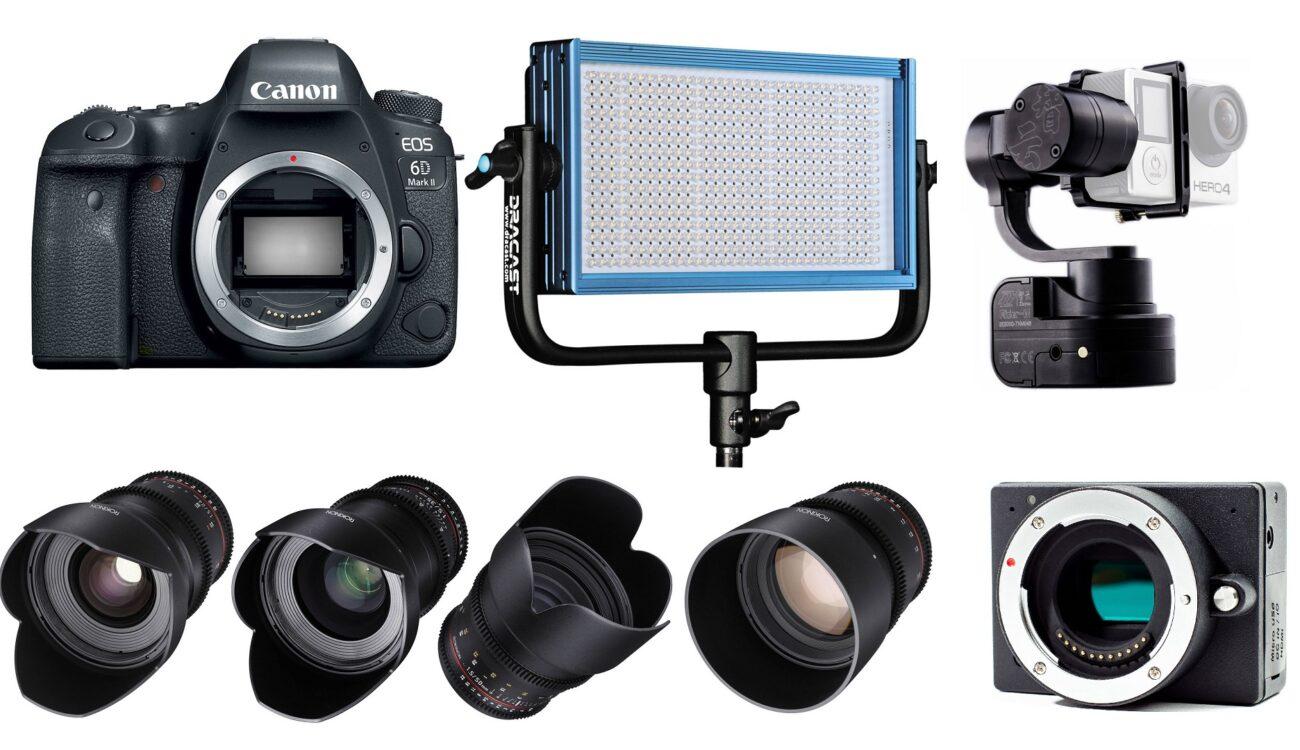This Week's Top 10 Deals for Filmmakers – Z Cam, Canon DSLRs, MacBook