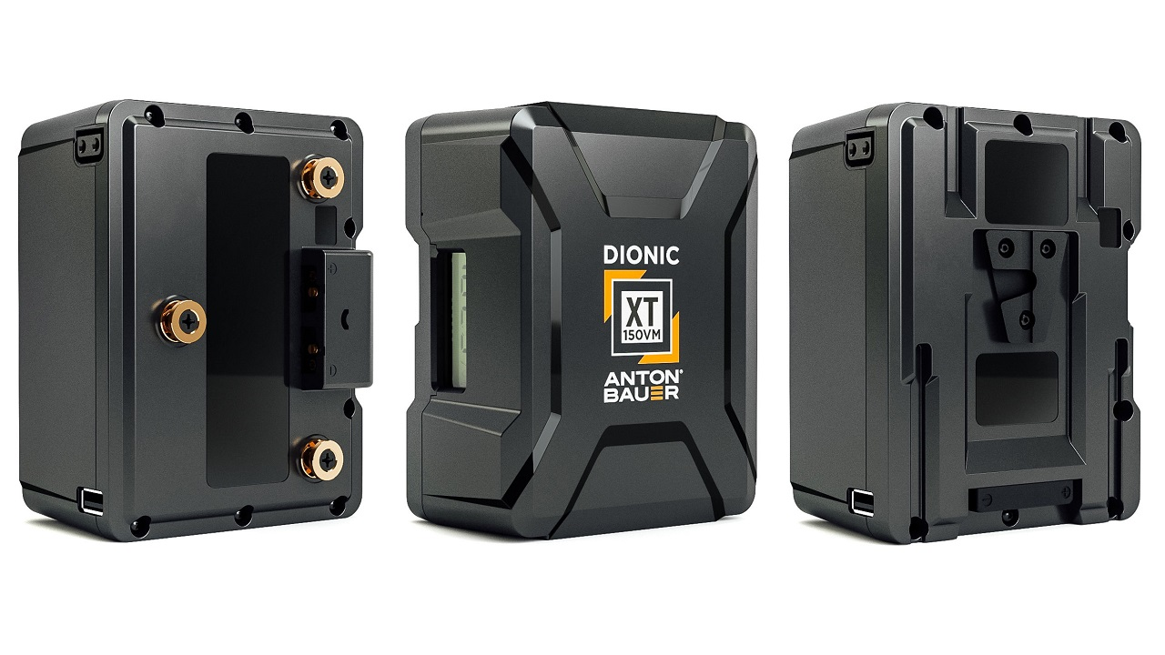 New Anton/Bauer Dionic XT Batteries - Designed For Greater Performance & Reliability