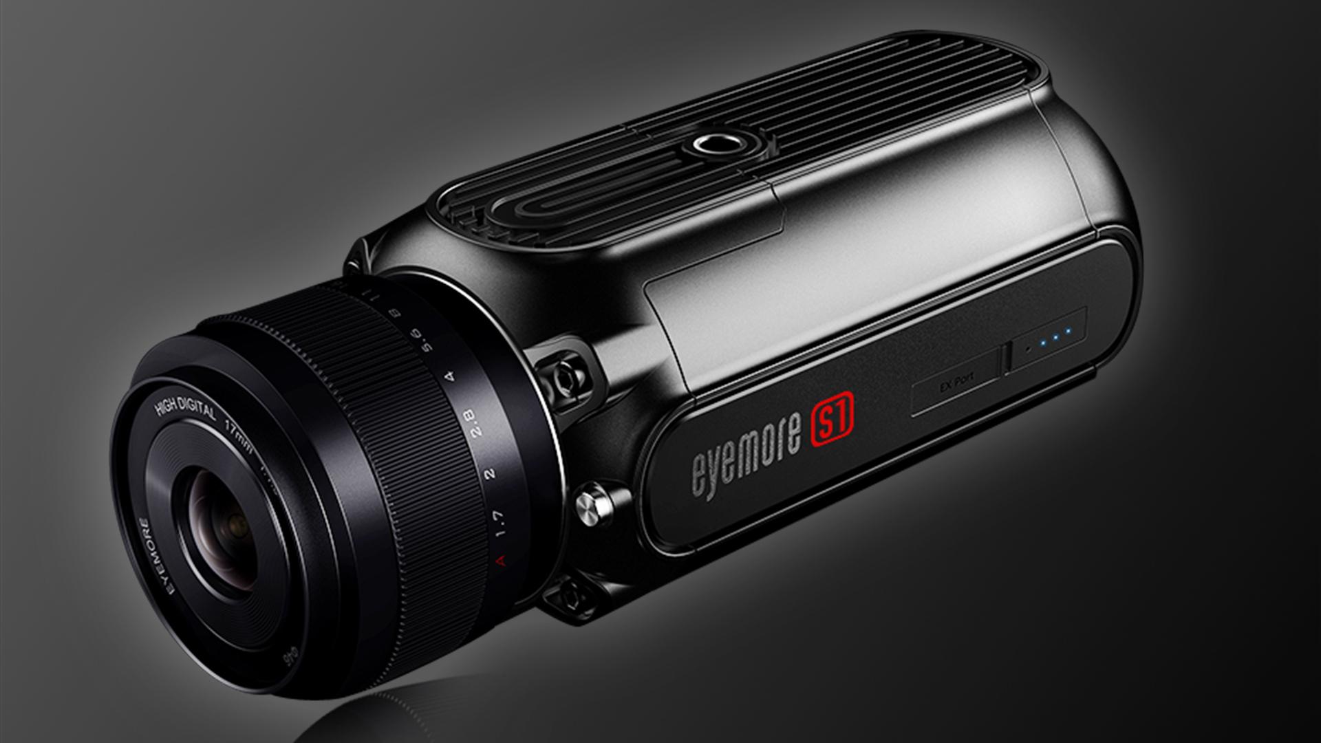 Eyemore S1 - iPhone用の外付けカメラ