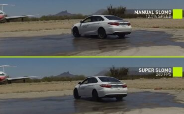 Fake Slow Motion Better with NVIDIA's Artificial Intelligence